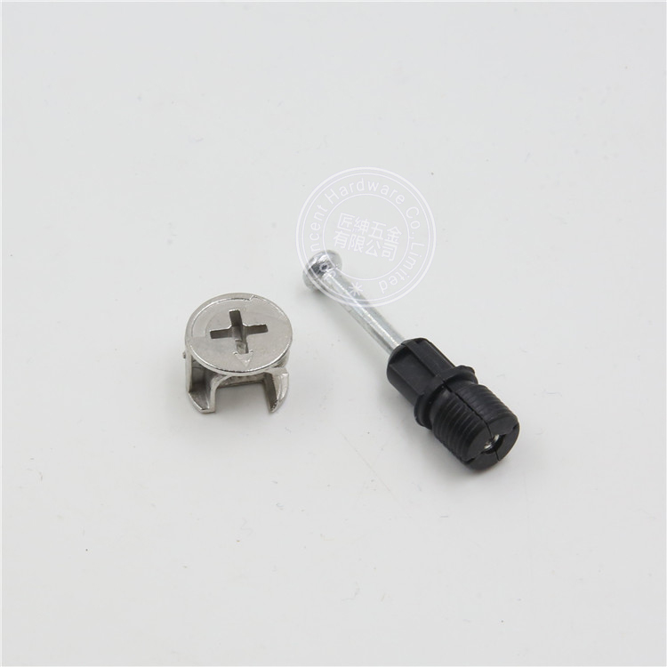 Furniture cam screws minifix fittings connecting lock