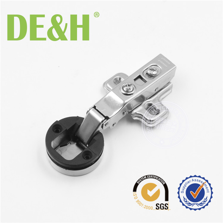 35mm clip on hydraulic 2d hinge for glass door screen