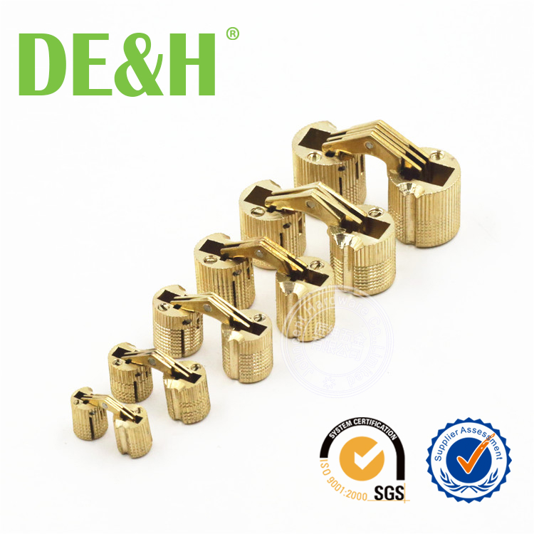 In stock gift box cylinder hinge watch box cylinder hinge 8mm