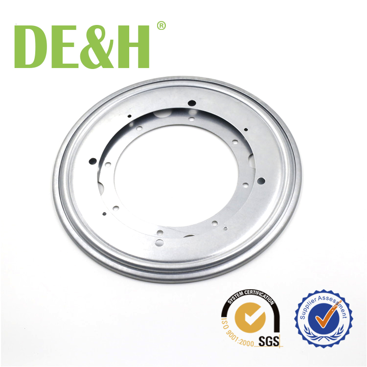 Aluminum alloy furniture turntable lazy susan swivel